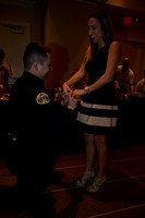 Police Officer of the Year Thomas Clark Proposes to Ashley Arterburn