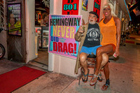 Hemingway Days As You've Never Seen by Larry Blackburn
