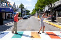 Key West Rainbow Crosswalks Introduction by Larry Blackburn