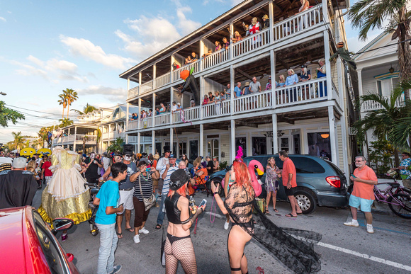 "Masquerade March, Fantasy Fest 2017, ""Time Travel Unravels"",  Key West Photos by Bill Klipp"