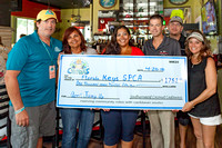 SM Castaways, Hangover Hospital & Salty Angler Check Presentation to KWSPCA