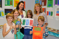"Stone Soup Gallery hosts ""Art and Wine"" for the  May Sands Montessori Charter School by:Sarah Sandnes"