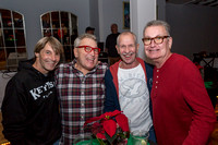 Bourbon Street Christmas Party at Mangoes by Larry Blackburn