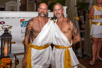 Tropical Heat Equator Toga Party by Larry Blackburn